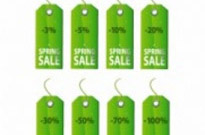 Free vector Vector misc  green spring tag sale tag vector