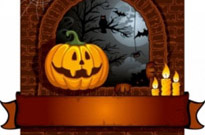 Free vector Vector background  halloween cartoon background 01 vector