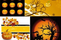 Free vector Vector clip art  halloween clip art illustrations