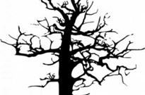 Free vector Vector clip art  Halloween Large Dead Tree