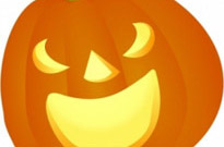 Free vector Vector clip art  Halloween Pumpkin Smile