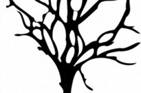 Free vector Vector clip art  Halloween Small Dead Tree