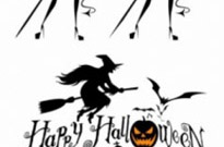Free vector Vector misc  halloween witch and graphics vector