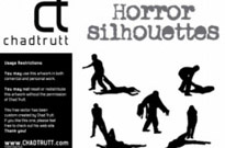 Free vector Vector Silhouettes  Horror Silhouette -1