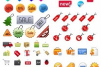 Free vector Vector icon  icon go shopping articles vector