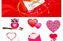 Free vector Vector Heart  love element vector