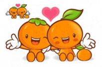 Free vector Vector cartoon  love the cartoon super fruits vector 1