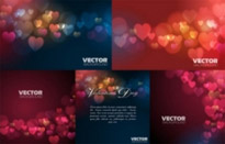 Free vector Vector background  love vector background dream