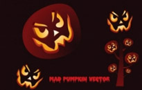 Free vector Vector misc  Mad Pumpkin Vector