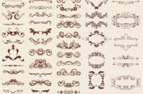 Free vector Vector misc  Retro Design Elements