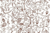 Free vector Vector floral  Seamless Floral Vector Background