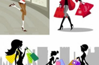 Free vector Vector misc  shopping fashion figures vector