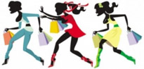 Free vector Vector people  shopping girl 04 vector