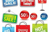 Free vector Vector misc  shopping sales theme vector