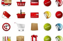 Free vector Vector icon  Shopping Vector Icon Set