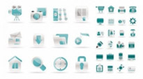 Free vector Vector icon  simple web design icon vector