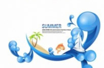 Free vector Vector misc  special summer theme vector