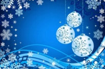 Free vector Vector background  the exquisite christmas ball background 04 vector
