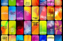 Free vector Vector background  the gorgeous halos card background 02 vector