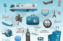 Free vector Vector misc  travel theme vector