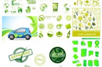 Free vector Vector icon  variety of environmental icon vector