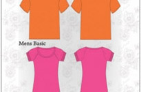 Free vector Vector misc  Vector T-Shirt Templates