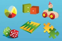 Free vector Vector misc  Vintage Toys Vector