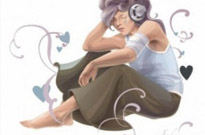 Free vector Vector misc  Woman Listening To Music Vector Art