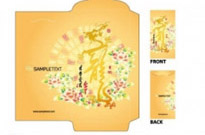 Free vector Vector misc  year of the dragon red envelope template 08 vector
