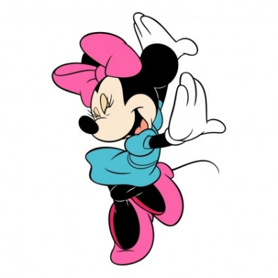 Free vector Vector logo  minnie mouse