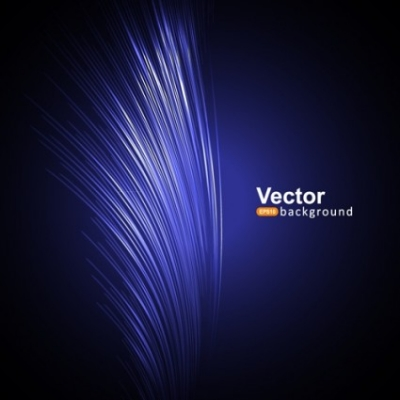 Free vector Vector background  Modern blue background vector