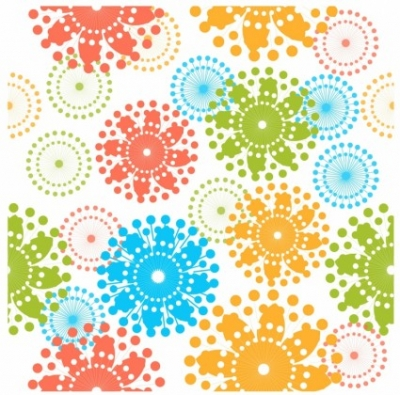 Free vector Vector pattern  Modern Floral Pattern