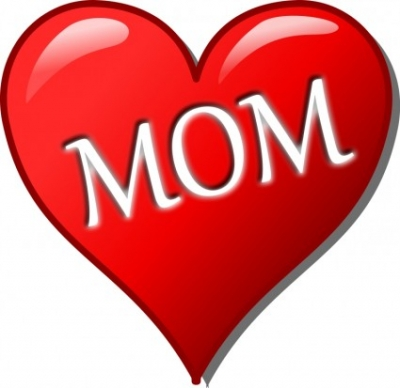 Free vector Vector clip art  Mother's day heart