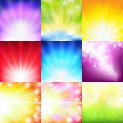Free vector Vector background  Multi-color light background
