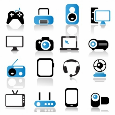 Free vector Vector icon  Multimedia Device Icons