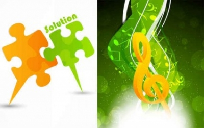 Free vector Vector background  Music life vector background