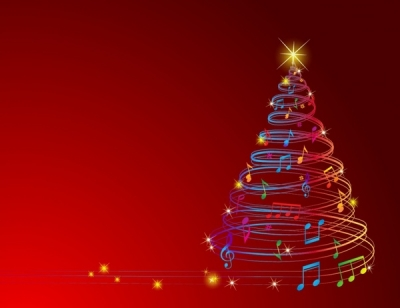 Musical Christmas Tree Free vector 1.17MB