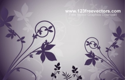 Free vector Vector flower  Nature Background Free Vector