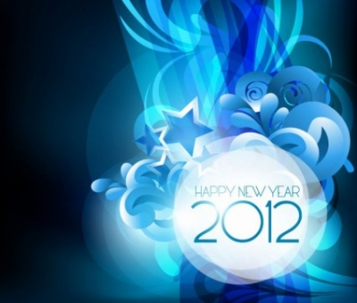Free vector Vector misc  New Year Design 2012