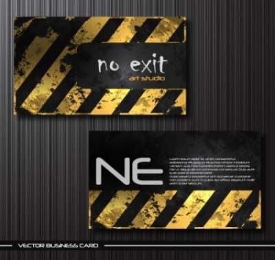 Free vector Vector misc  old metal business card templates vector
