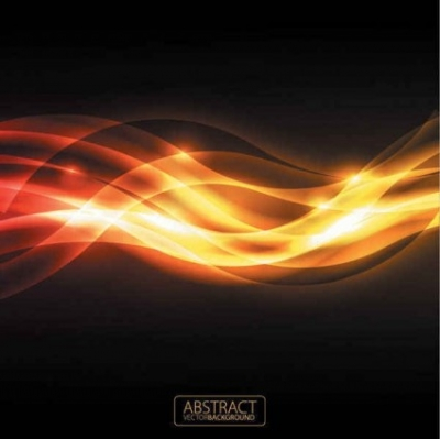 Free vector Vector background  Orange glare background