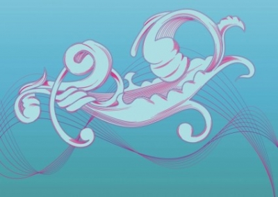Free vector Vector misc  Organic Scroll Ribbons