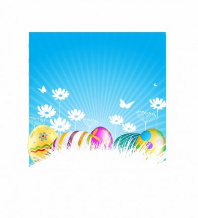 Free vector Vector misc  Painted Easter Eggs