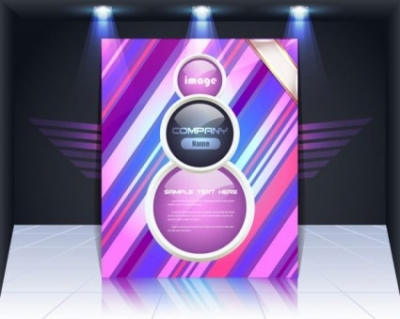 Free vector Vector background  panels background 05 vector