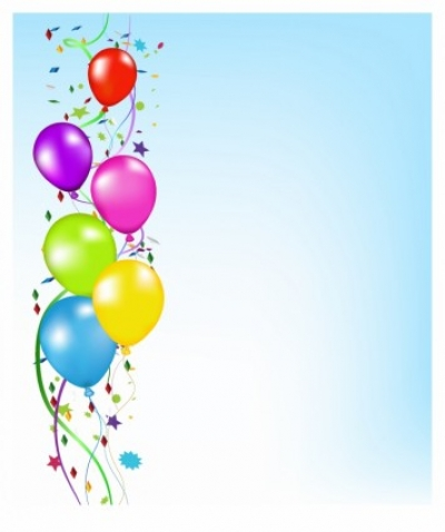 Free vector Vector background  Party Balloons Background