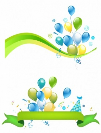 Free vector Vector misc  Party: header and footer