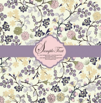 Free vector Vector background  pattern background card 03 vector
