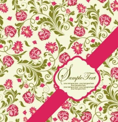 Free vector Vector background  pattern background card 04 vector