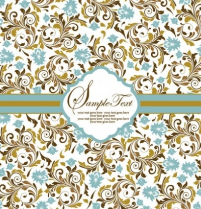 Free vector Vector background  pattern background card 05 vector