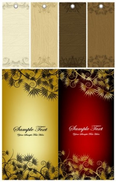 Free vector Vector banner  pattern tag and banner vector
